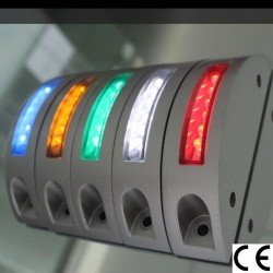 ART. SRS003 MARKER STRADALE SOLARE 6 LED LUCE LAMPEGGIANTE